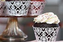 Cupcake, muffin wedding cake / wedding cake
