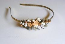 ArtEra Bridal Veil and accessory handmade / I handmade wedding accessory. More details : http://arteraveil.blogspot.hu/ / by Erika Kiss ArtEra Bridal Veil - Jewel
