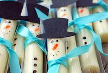 Snow day / Ideas for when your kids have a Snow Day.  Activities, treat and more!