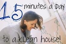 Cleaning / by Elizabeth Landgraf