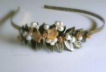 Autumn wedding / wedding autumn, bridal dree, bridal jewelry