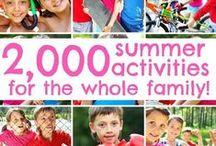 SEASON*Summer: Activities, art & fun