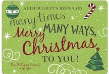 Festive Holiday Cards / by Storkie Express