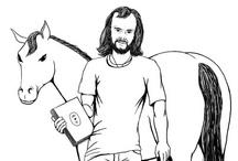 Drawings of John Peel