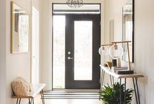 Entry/ Mudrooms / Great inspiration for entry and mudroom spaces.