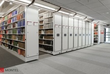 Educational Storage Solutions / Montel's shelving solutions provide the safest possible storage of all education supplies, materials and equipment at elementary schools, high schools, colleges and universities while maximizing institutions' use of space. Established in 1924, Montel Inc. is the pioneer of high-density mobile shelving storage system solutions in North America. To learn more about Montel and/or for a no-obligation space storage analysis, contact us at 877-935-0236 or system@montel.com.