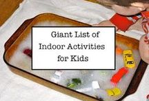KID: indoor NO ELECTRONIC activities
