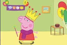 peppa pig birthday party / for little Bianca, who will soon turn 2