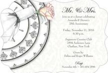 Anniversary Invitations / by Storkie Express