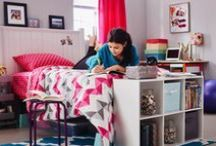 Back to College / Looks like college, feels like home. Bring your personal style to your dorm room or apartment with these smart ways to get organized, easy DIY projects and decorating ideas.  / by Meijer
