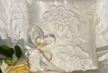 Wedding ring pillow / Ring pillow, wedding, elegant, rustic, arterabridalveil