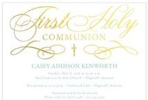 First Holy Communion / by Storkie Express