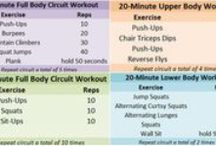 FITNESS: whole body workouts