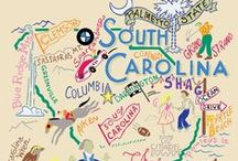 We <3 South Carolina / We're proud to be from the great state of South Carolina!