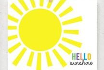 Printables Free: Summer, Sunshine, Flowers