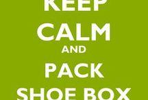 HELPING Hand: (OCC) Shoe box ideas