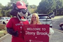 Wolfie - Official Mascot of the Stony Brook Seawolves / MEET WOLFIE! Wolfie the Seawolf is the fun-loving mascot who loves Stony Brook Athletics and promotes it around Stony Brook University and in the local community. Wolfie has been a part of the Stony Brook family since 1995--just a year after the SB varsity teams became known as the Seawolves. here's no doubt that Wolfie is a celebrity—he was the 2009 Three Village Sportsman of the Year and a finalist for Best Mascot in the Long Island Press Best of Long Island 2011 and 2012 contests.  / by Stony Brook University