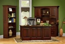 Amish Executive Office Furniture / At DutchCrafter's we offer a wide variety of handcrafted Amish Office Furniture.  Each desk, file cabinet, bookcase and credenza is among the finest solid wood office furniture you'll find anywhere.  All of it is proudly made in the America of solid hardwoods - taking you back to a time when authenticity was valued over commodity.
