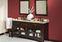 Amish Bathroom Vanities / Offering inspiration and new ideas for bathrooms, Amish made bathroom vanities come with a variety of custom options. Create that relaxing retreat with just the right Amish furniture for your bathroom.