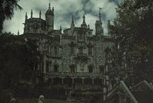 a gothic air