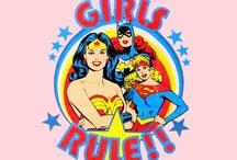comic heros / by Melissa Huskins