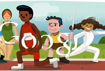Google Doodles: Olympic games 2012