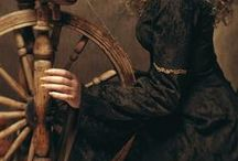 """Rumpelstiltskin / """"To-morrow I brew, to-day I bake, and then the child away I'll take; For little deems my royal dame that Rumpelstiltskin is my name!"""""""