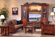 Living Room Furniture - American Made / Check out our new looks for your living room or family room furniture.  A wide variety of styles all American made.