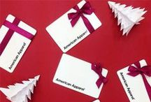 Happy Holidays / Seasons greetings from American Apparel!