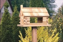 Amish Birdfeeders and Amish Birdhouses / Now is the perfect time to stock up on bird feeders.  Before we know it there will be snow on the ground and the birds will appreciate the birdseed you leave out for them.  Take a look at our many American made birdfeeder and birdhouse styles at DutchCrafters.com.