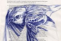 Pen Art / Examples of people doing amazing things with pens - ballpoint pens, fineliner pens, fountain pens...