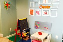 Basement/Playroom / Playroom and recreational area  / by Victoria Schwartz