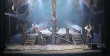Théâtre Illuminata / Book board for the Théâtre Illuminata series by Lisa Mantchev: Eyes Like Stars, Perchance to Dream, and So Silver Bright. The entire series is exquisite & magical with incredible world-building, and you should go read it. :)
