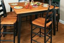 Shaker Furniture / Shaker style furniture is full of function in simple, solid wood designs. We offer shaker furniture for every room of the home. You can always rely on strength and lots of custom features from our skilled Amish woodworkers.
