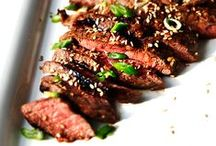 Beef recipes / Beef recipes - marinades, grilling, cooking