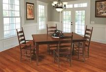 Top Selling Dining Tables / Our Top Amish Dining Room tables, ready to make your every dinner time an occasion!  Shop our Amish solid wood dining tables and kitchen tables today!  Our American made dining tables are available in a variety of woods, finishes, sizes and styles.  Custom table designs are available by contacting one of our Amish furniture specialists at 1-866-272-6773.