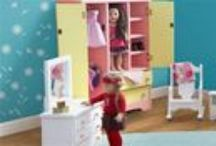 American Girl Doll Furniture & Apparel / Our wood doll furniture is all proudly made in American which makes it the perfect fit for your American girl doll.  Doesn't Kaya, Grace and Julie deserve doll furniture that is made in the USA?  This doll furniture is sure to provide hours of creative play and imagination for your little girl. This doll furniture is sure to become a keepsake to treasure for generations.