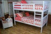 Bunk Beds / Have an extra bed for sleepovers and save space with our American made bunk beds. Our stylish solid wood bunk beds are perfect for a child or teenager's bedroom and come equipped with exciting storage solutions.