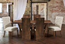 New Dining Room Looks / Check out our new looks for your dining room furniture and kitchen furniture.  All of our Amish furniture is handcrafted in the USA!