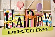 Birthday, Parties & Showers / Birthday ideas, games, themes, etc.... / by Michelle Schaffer