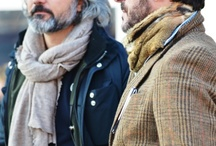 Scarves / A board dedicated to interest and stylish examples of men's scarfs. From fabric, to colour, to pattern to styling!