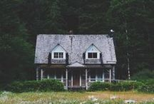 HOME / home aesthetic for exterior / interiors