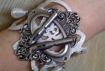 Time Travelers Team on Etsy / This team is a melange of artists from many venues with a passion for the nostalgic and vintage. Many artists here represent Steampunk, Neo-Victorian, Gothic, Funky Retro and even the future! http://www.etsy.com/teams/9087/time-travelers-team / by MadScientistsDesigns