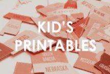 Kid Printables