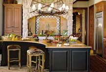 Dream Kitchens / I've been thinking about a dream kitchen for years. So, I think I'll post photos of things I like in kitchen design...P~