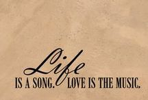 Music is My Life...The Lyrics R my Story! /  MUSIC always connects us and says the words that are unsaid leaving it's impressible mark forever engraved on our sacred place of the HEART! Music can lift us from our current plane into a world where nothing matters, where no stress can be found and where true peace abounds!! ♥ ♥ / by Steward of Savings