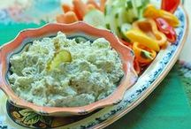 Dips-The Saucy Southerner / All sorts of dips for your party and snacking pleasure! P~
