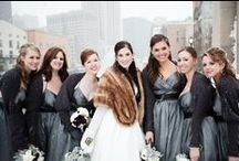 Clewell Winter Weddings / Http://clewellphotography.com #wedding #minneapolis #winter #snow