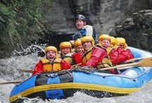Rafting, New Zealand / White Water Rafting in South Island, New Zealand