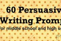 ELA - Prompts for Writin' / by Amy Nolan